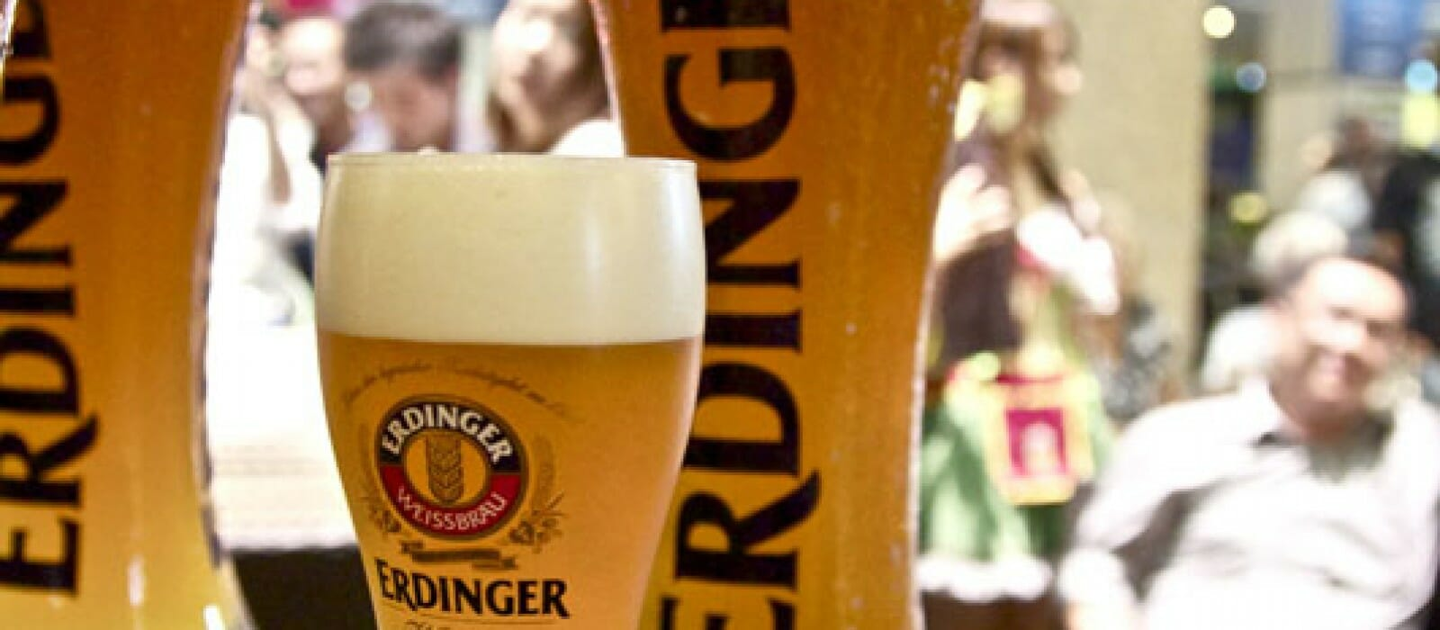 Difference between the one pint Erdinger and Three Litre Erdinger