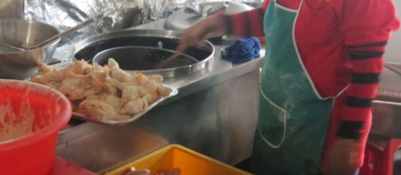 Frying process