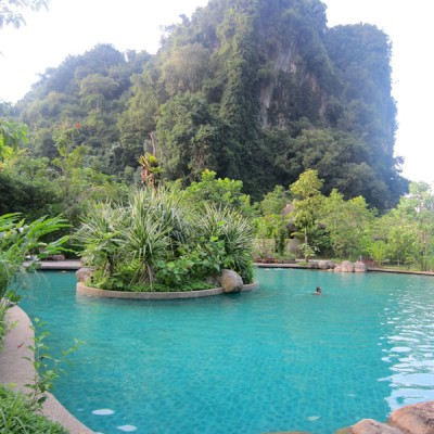 Holiday at The Banjaran Hotsprings Retreat
