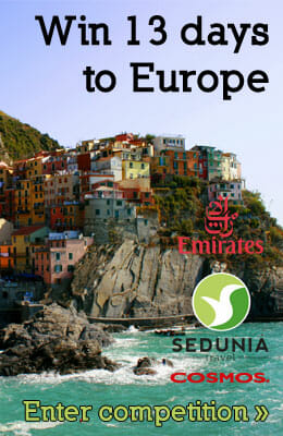 Win A Trip to Europe for Two