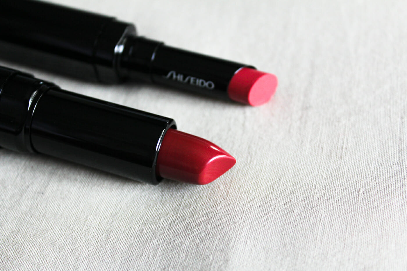 From top: Veiled Rouge in Zinnia, Perfect Rouge in Spellbound.