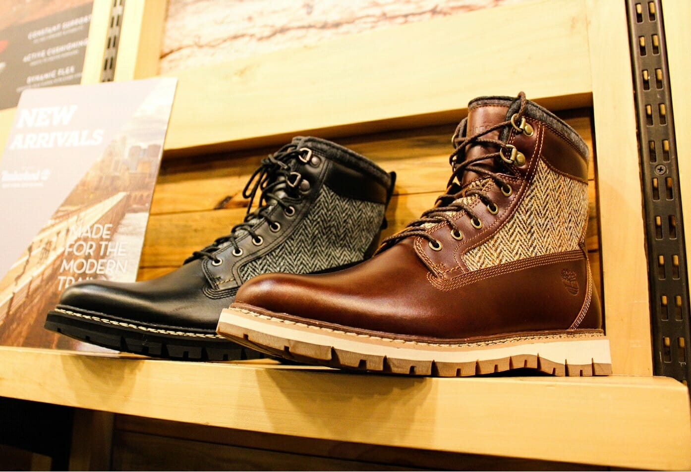 I've got my eye on these Timberland Harris Tweed Boots!