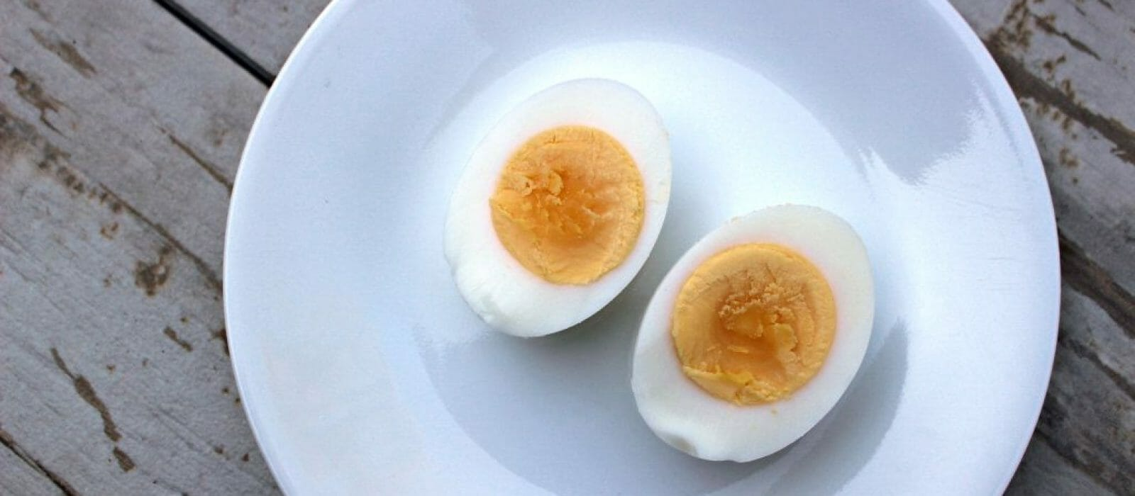 Two Hard Boiled Eggs