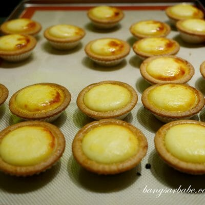 Baked Cheese Tart