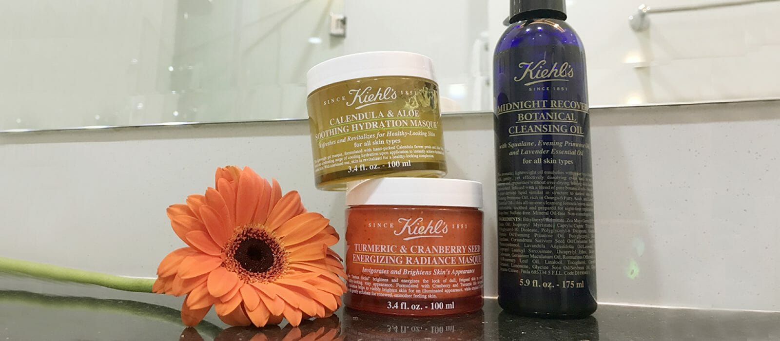 Review: Kiehl's Face Mask & Cleansing Oil
