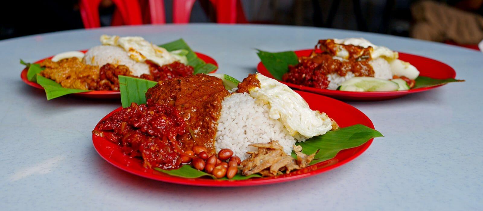 Nasi Lemak Restoran Sepetang, Taman Desa