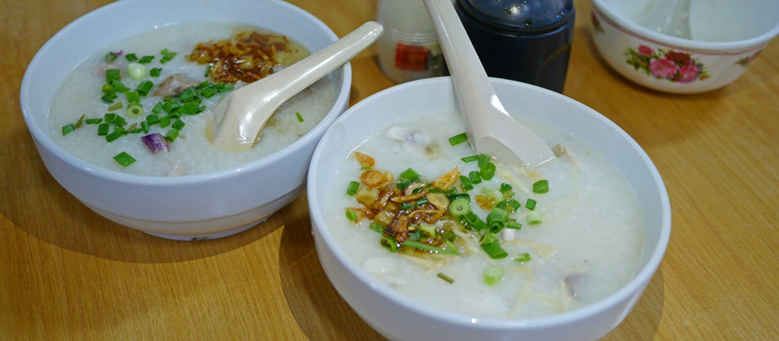 Hainanese Pork Porridge & Fishball Noodles, Chow Kit