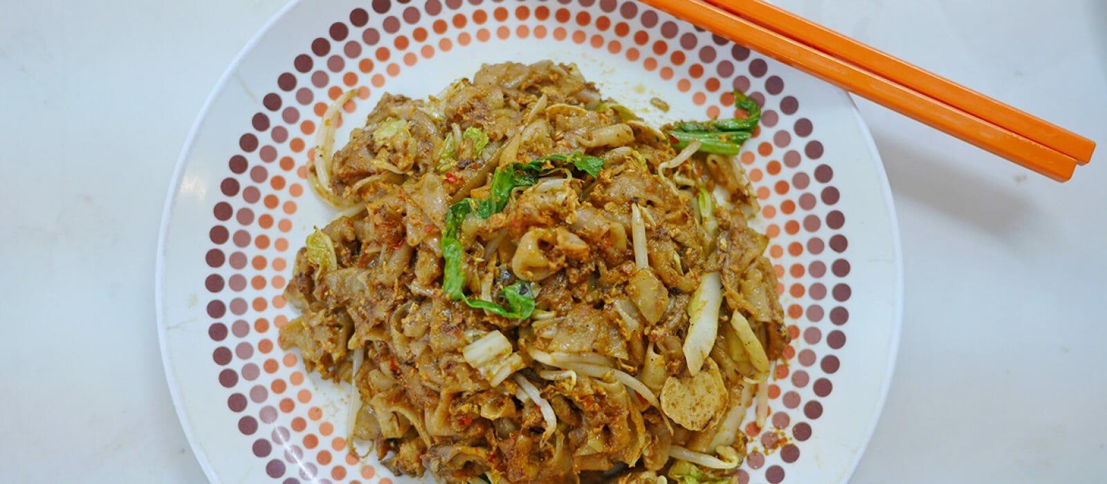 Blue Boy Vegetarian Char Kuay Teow